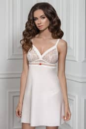 Night dress Florencia, color: milk — preview