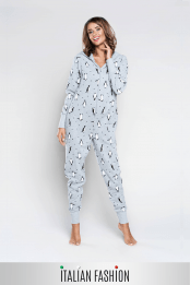 Jumpsuit LULU, color: gray — preview
