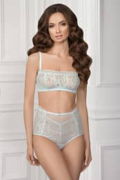 Soft bra NELI, color: light blue — preview