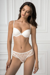 Push-up moulded bra ILEN, color: whisper white — preview