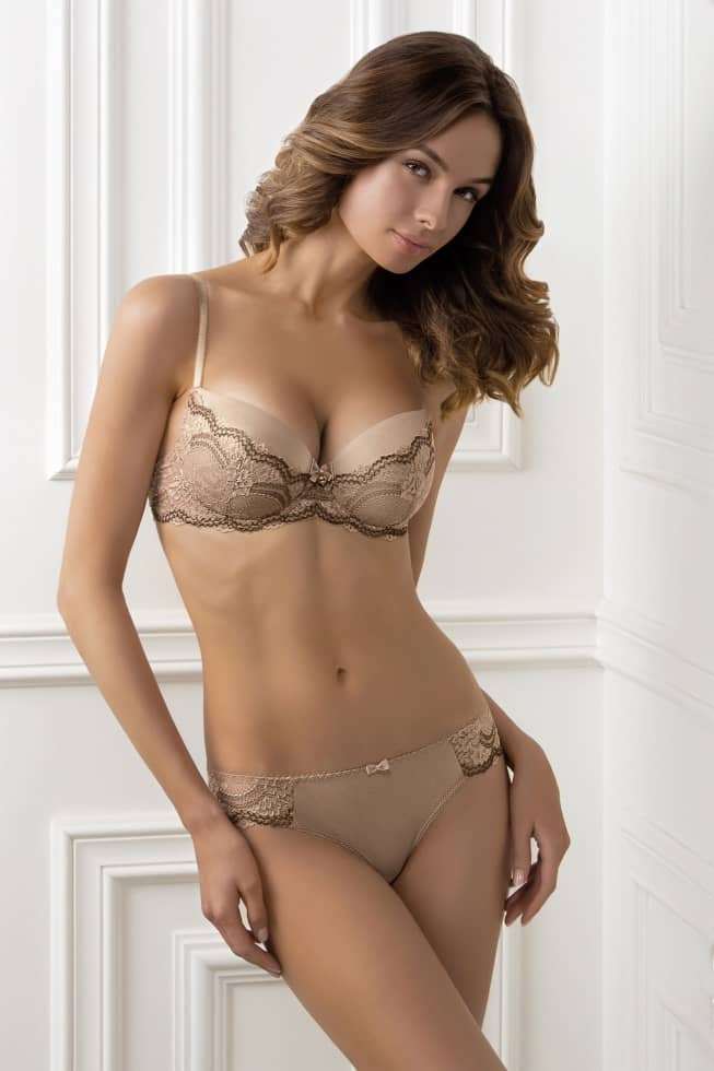 Bras - Push-up bra GIMI Color  - frappe- buy on Online shop in ... 8294326178b52