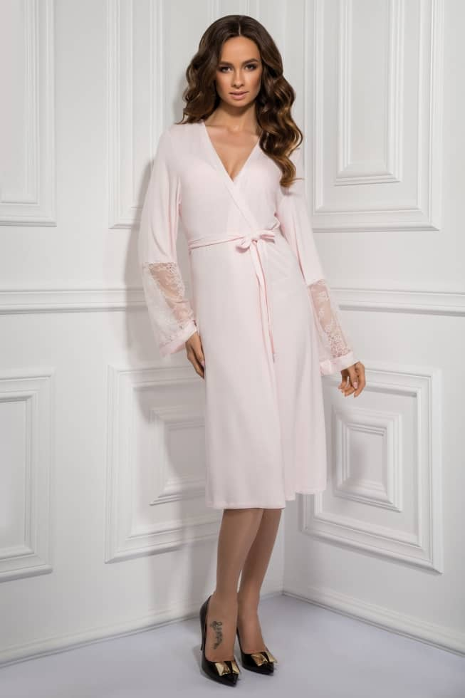 Dressing gown Tifany, color: petal — photo 1
