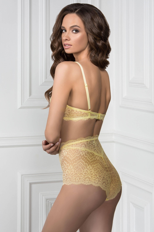 Бюстгальтер ELZA желтый — купить по цене  287 грн в интернет ... 62fbfddf302a2