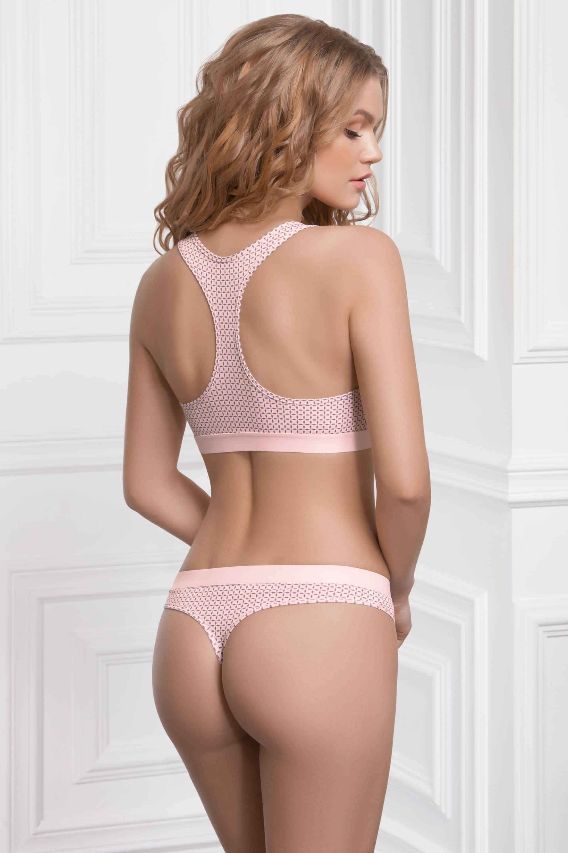 Купить Трусики - Стринг TWEEDY - розово-коричневый, Jasmine