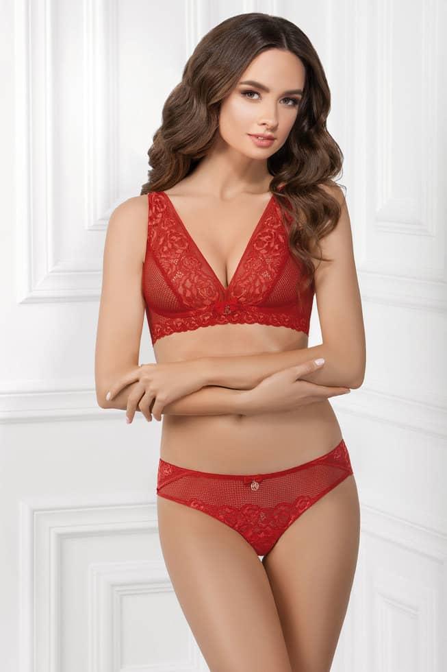Купить Бюстгальтер - Bralette YANA - красный, Jasmine