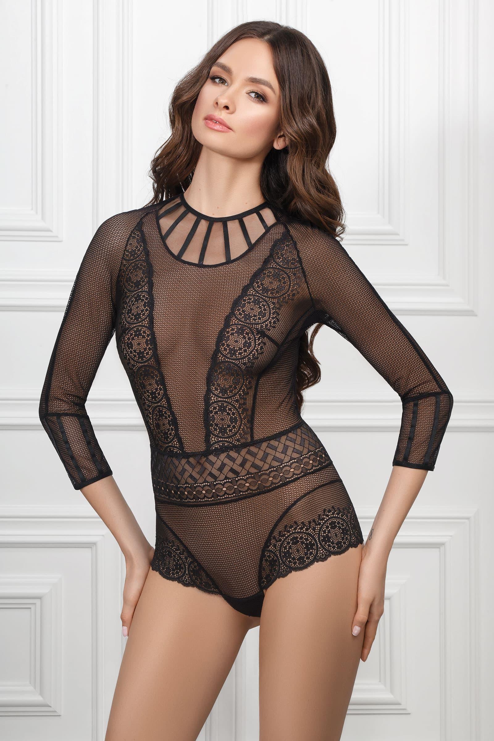 Купить Body & Corset - Боди EVELINA - черный, Jasmine