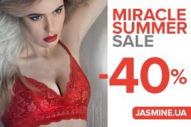 ​MIRACLE SUMMER SALE  -40% from JASMINE!