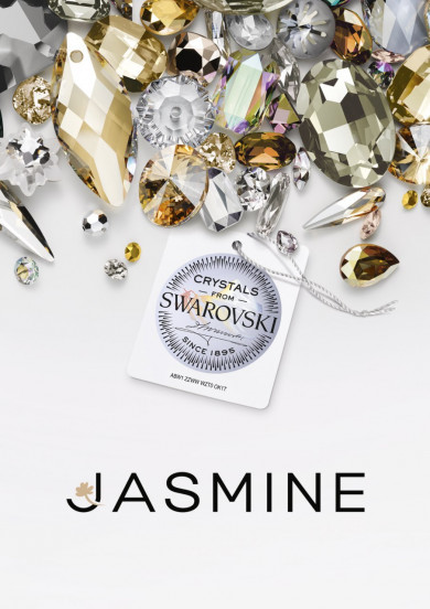 JASMINE and SWAROVSKI collaboration in the new basic collection.
