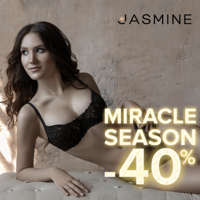 JASMINE MIRACLE SEASON STARTED: 40% OFF ON JASMINE LINGERIE!